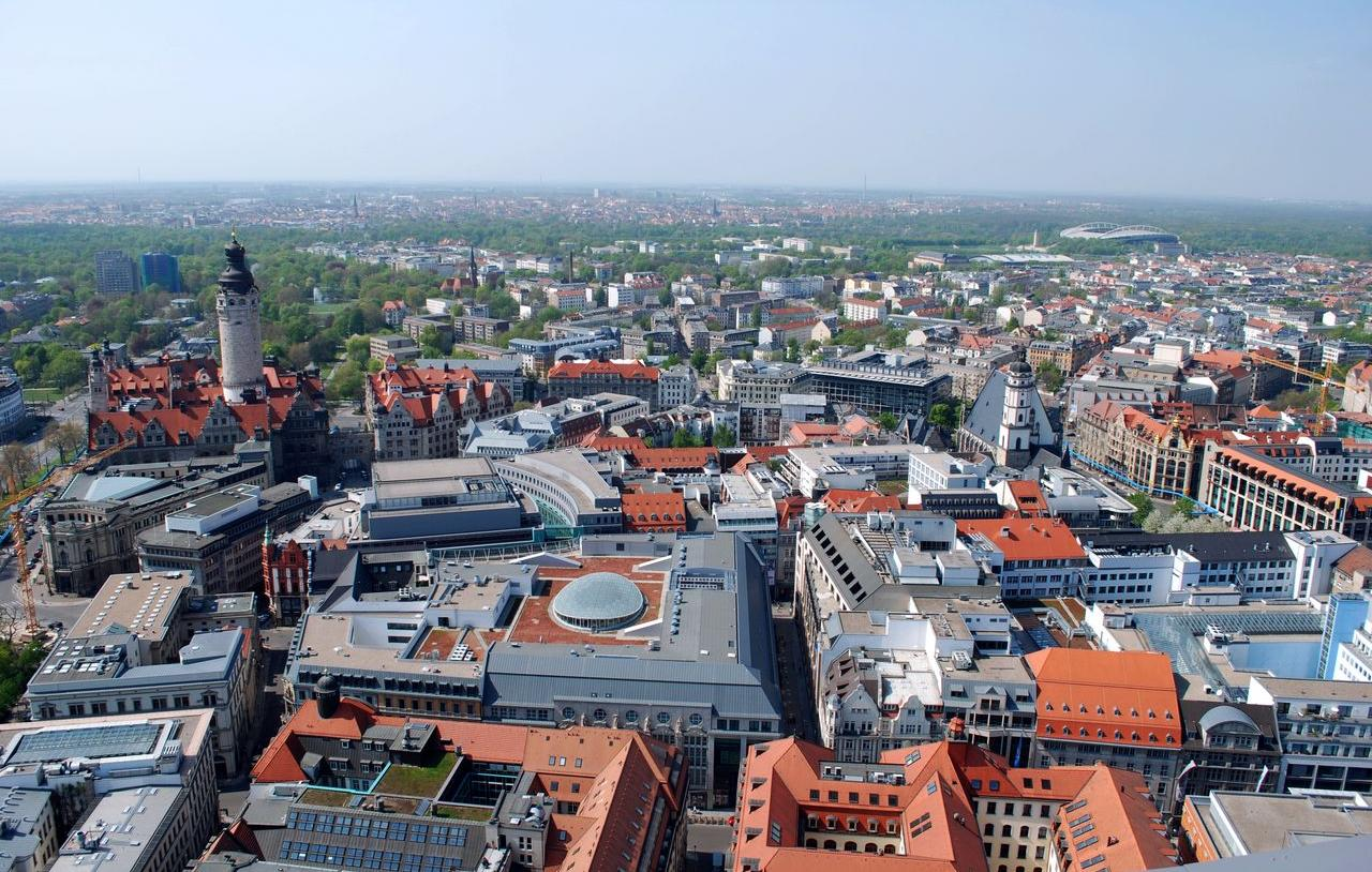 Overview of Leipzig city